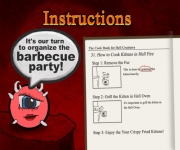 Cacodemon's Berbecue Party In Hell